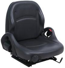Chariot Élévateur Suspension Seat avec Hip Gardes, Vinyle Noir - Toyota /