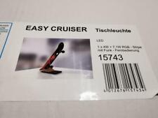 Evotec Skateboard LED Tischlampe 80cm Fernbedienung RGB EASY CRUISER DRAGON NEU