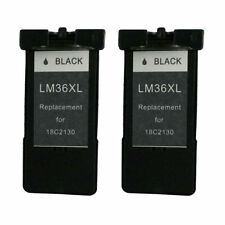 Ink Cartridge for Lexmark 36XL(Black) use in Lexmark X6675 Printer - Pack of 2