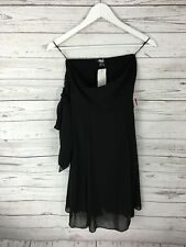 ASOS Strapless Dress - Size UK10 - Black - New with Tags