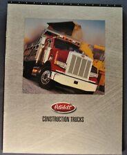 1996-1997 Peterbilt Truck Brochure Model 379 378 357 330 385 Excellent Original