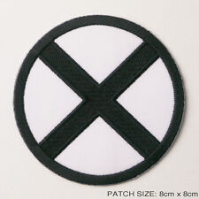 X-MEN - B/W Comic Style Classic Team Embroidered Iron-On Patch...