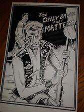 The Clash London Calling Joe Stummer Paul Simonon Rare Og art poster 1 of a Kind