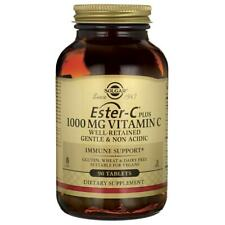 Solgar Ester-C Plus Vitamin C 1,000 mg 90 Tabs