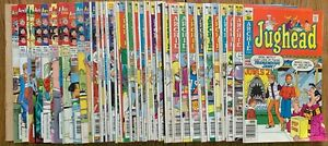 LOT OF 39 JUGHEAD COMICS (ARCHIE,1970-2005) #1-3,5,19,57,71,77... BRONZE/MODERN=