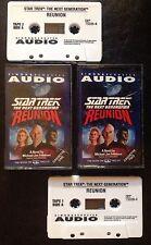 Star Trek Next Generation Reunion Audio Book On Cassette Tape Not Dvd