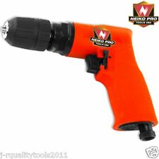 "3/8"" Composite Reversible Air Drill w/ Keyless Chuck"