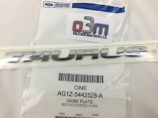 "Ford Taurus Rear Chrome ""TAURUS"" NAMEPLATE Emblem OEM AG1Z-5442528-A"
