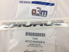 """Ford Taurus Rear Chrome """"TAURUS"""" NAMEPLATE Emblem OEM AG1Z-5442528-A"""