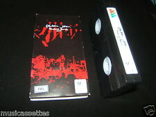 PEARL JAM TOURING BAND 2000 AUSTRALIAN VHS VIDEO