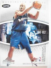 2001-02 FLEER MARQUEE  DOUBLE ROOKIE CARD # 125  WIZARDS   BOX54