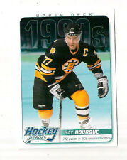 13/14 UPPER DECK BRUINS RAY BOURQUE  HOCKEY HEROES INSERT #HH61