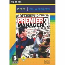 Premier Manager 3 - PC Football Soccer Management NEW