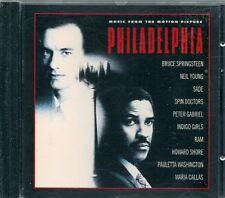 CD BOF 10 TITRES--PHILADELPHIA--HOWARD SHORE/P.GABRIEL