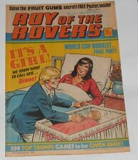 ROY OF THE ROVERS COMIC 10TH JULY 1982 RUSSELL OSMAN OF IPSWICH TOWN
