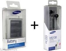 batteria galaxy s4 samsung i9500 originale in blister ed auricolari HS130