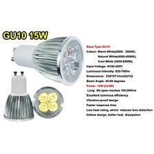Ultra Bright 9/12/15W LED Spot Light Bulbs MR16/GU10/E27/E14 Cool/Warm White