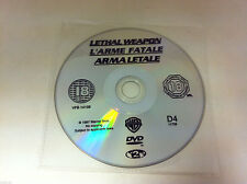 Lethal Weapon DVD R2 Action Movie - DISC ONLY in Plastic Sleeve