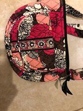 Vera Bradley small crossbody purse In Retired Mocha Rouge Print