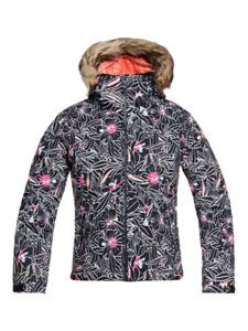 Girls' ROXY American Pie Hooded Snow Jacket Insulated Coat Snowboard Ski Winter