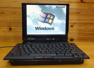 Thinkpad 701c (butterfly) - fully working  w/ floppy drive, AC  - see details
