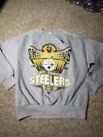 VTG Pittsburgh Steelers Starter Crewneck Sweatshirt Mens NFL1995 AFC Champion XL