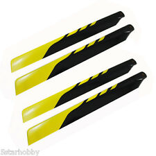 4Pcs 325mm Rotor Main Blade For Align Trex 450 V2 V3 PRO DFC Helicopter