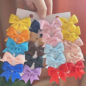Charm Girls 3 inch 1pcs hair bow clips school toddlers bows hair accessories lot