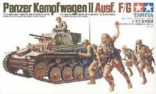 Tamiya 35009 1/35 Scale Tank Model Kit German Panzer Kampfwagen II Ausf.F/G