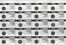 20 pc 1216 Energizer Watch Batteries CR1216 CR 1216 Lithium Battery 0% HG
