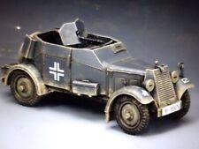 king & country 60mm ww2 German Armored car Adler KFZ13 2008 WS246 mib oop