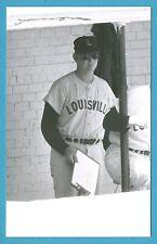 Mike Garman (Louisville) Vintage Minor League Baseball Postcard