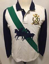 Polo by Ralph Lauren boys youth long sleeve polo Golf shirt XL cotton