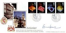 More details for 1989 europa first day cover certified signed edward heath
