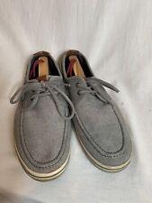 Aldo Boat Shoe 10 US Grey