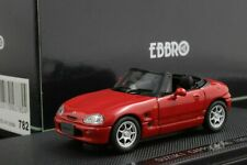 Ebbro 43782 1:43 Scale Suzuki Cappuccino (1991) Die Cast Model Car Red