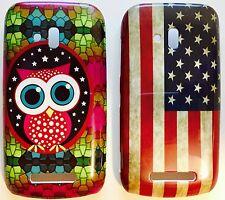 Handy Schutz Hülle Tasche Nokia Lumia 610 USA Case Bumper Back Cover Etui Neu