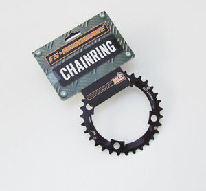 FS Hardware MTB Alloy Middle Chainring - 32T - 104mm - 4 Bolt