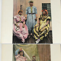 Tunisia Tunis North Africa 1890s color photo book -  traditional dress costume