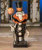 Bethany Lowe Designs: Halloween;  Skeleton; Chicken Lips' Clowning Around Skelly