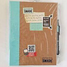 SMASH Art Journal RETRO STYLE Blue K & Company Journaling Scrapbooking New