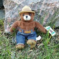 Vintage 1997 Smokey the Bear Prevent Forest Fires Plush Stuffed Animal