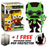 FUNKO POP THE SIMPSONS THOH DEVIL FLANDERS GLOW #1029 EXCLUSIVE VINYL FIGURE