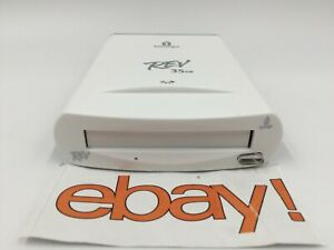 IOMEGA REV 35GB (35) FireWire drive FireWire 1394 NO cables OR ADAPTER -WHITE