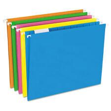 Pendaflex Glow Hanging File Folders 1/5 Tab Letter Glow Assorted 25/Box 81672