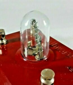Crystal Radio Detector Glass Dome Philmore - Brand New Replacement Part