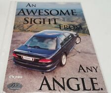 1996 FORD FAIRMONT EL SVO OLYMPUS  New Zealand Issue Sales Leaflet VERY RARE