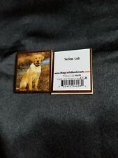 Magnetic Bookmarks Yellow Lab