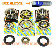 Fiat Punto & Grande Punto 5 speed gearbox uprated bearing & oil seal repair kit