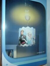 FROZEN DISNEY PHILIPS IMAGINATIVE LIGHTING  SUSPENSION OR LAMP,  SHADE ( New)